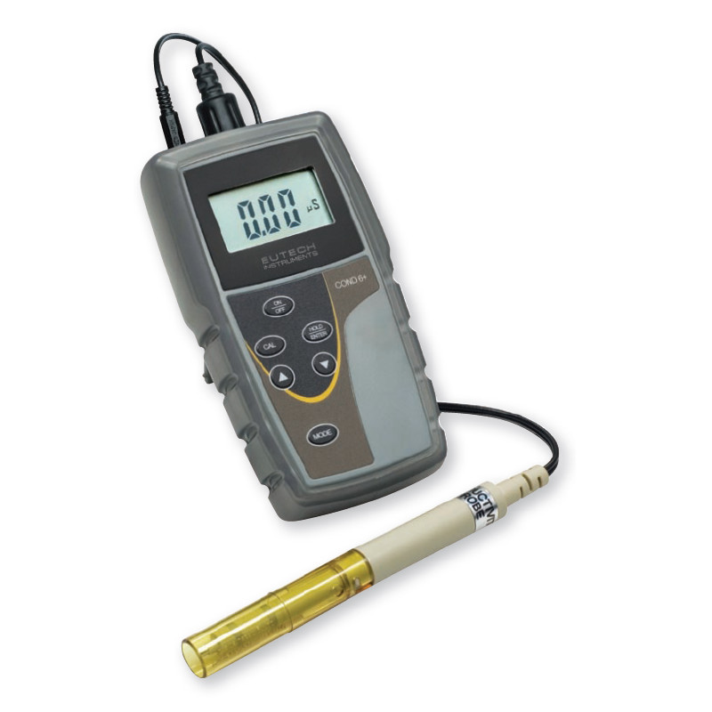Water Conductivity Measurement : Eutech cond conductivity meter