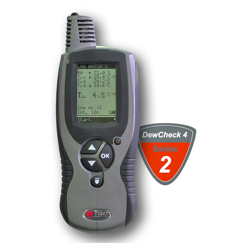 DewCheck 4 - Dew Point Meter