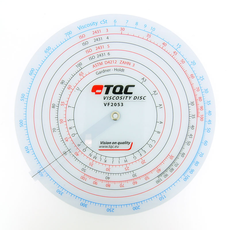 TQC Flow Cup Accessories<br>Viscosity Conversion Disk