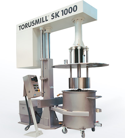 TORUSMILL<sup>®</sup> SK1000-EX Ex-Proof Basketmill