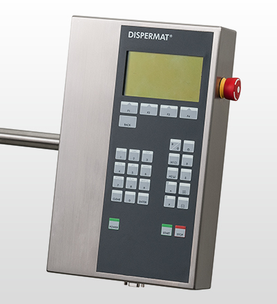 DISPERMAT<sup>®</sup> CA is equiped with a C-Technology control panel.