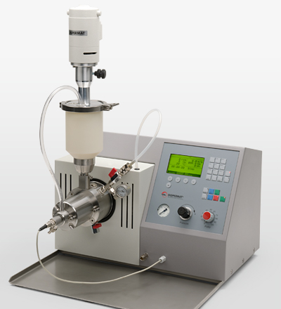 The nano-bead mill DISPERMAT® SL-nano is also available in an explosion proof version.